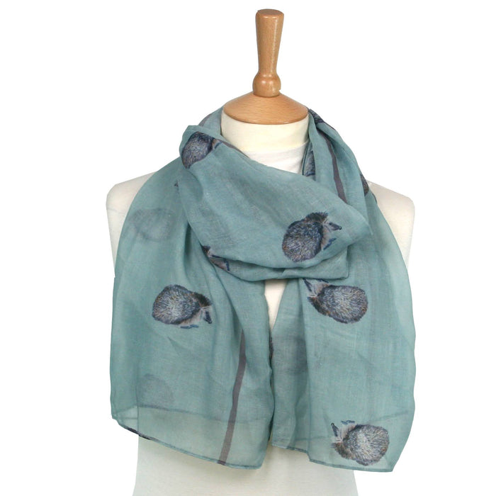 Hedgehog Scarf - Designed by British Artist Kat Jackson, Supporting Animal Charities