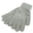 Grey Snowflake Gloves