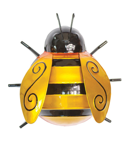 Bumble Bee Metal Wall Art - Available in three sizes