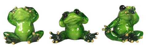 Frogs - Hear no Evil, See no Evil, Speak no Evil
