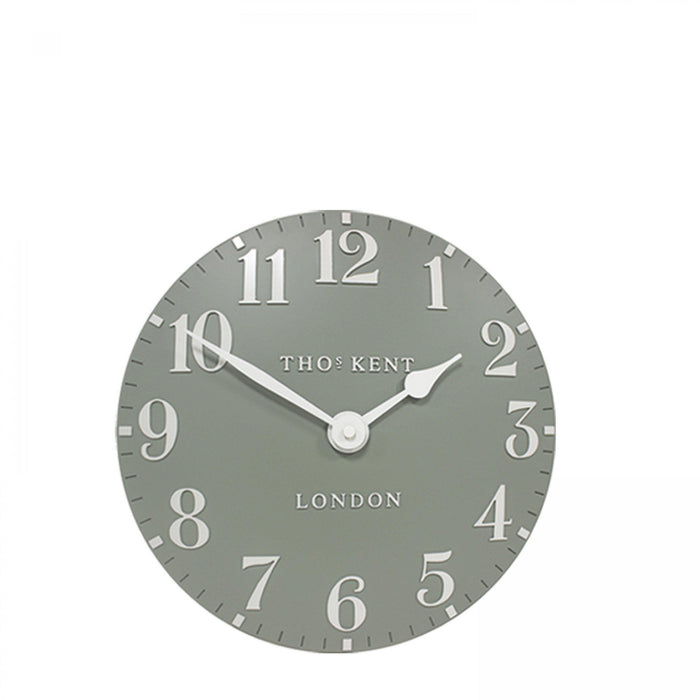 Thomas Kent Arabic Wall Clock - 12inch Seagrass - New for Spring 2020