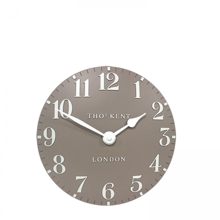 Thomas Kent Arabic Wall Clock - 12inch Clay - New for Spring 2020