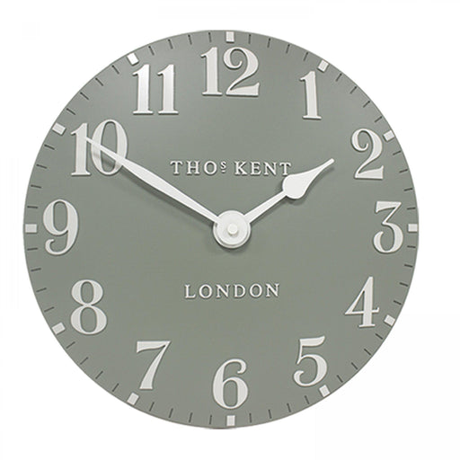 Thomas Kent Arabic Wall Clock - 20inch Seagrass - New for Spring 2020