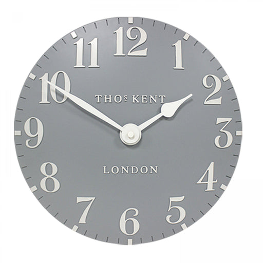 Thomas Kent Arabic Wall Clock - 20inch Flax Blue - New for Spring 2020