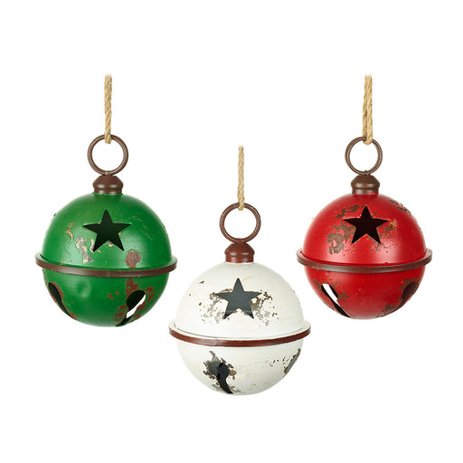 Giant Metal Baubles - 30cm