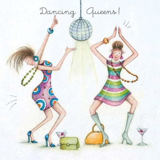 Friend Card - Dancing Queens! Berni Parker