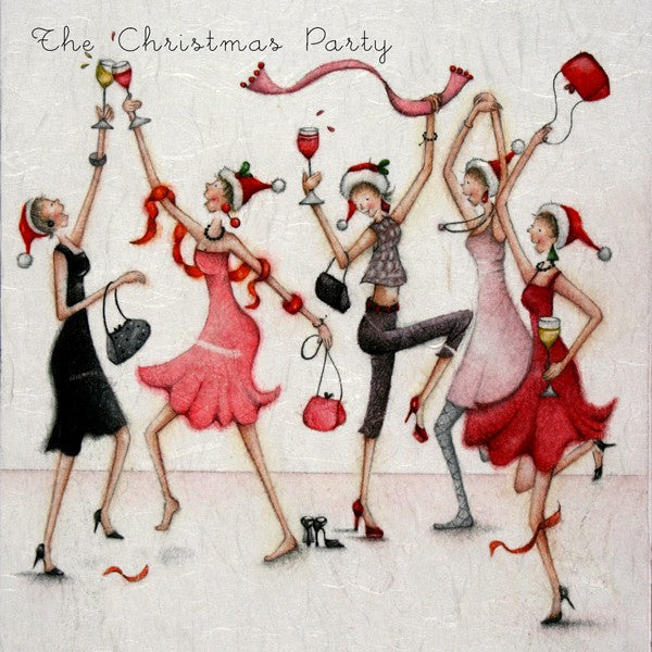 Christmas Card - The Christmas Party - Berni Parker