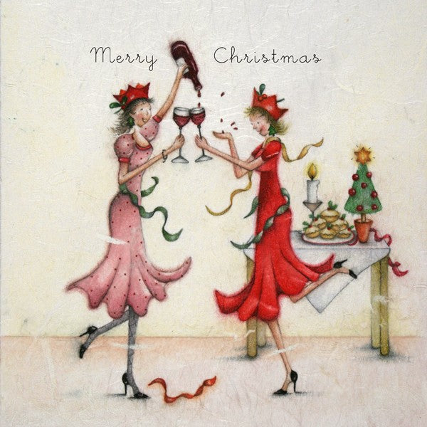 Christmas Card - Merry Christmas - Berni Parker