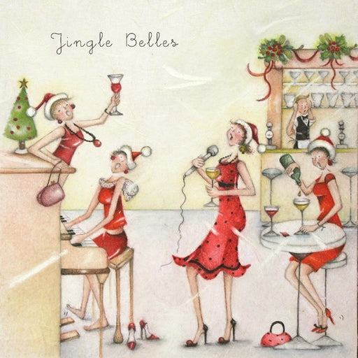 Christmas Card - Jingle Belles - Berni Parker