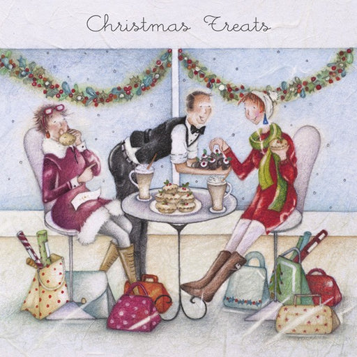 Christmas Card - Christmas Treats - Berni Parker