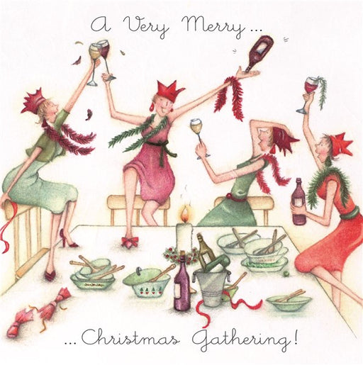 Christmas Card - A Very Merry...Christmas Gathering! - Berni Parker