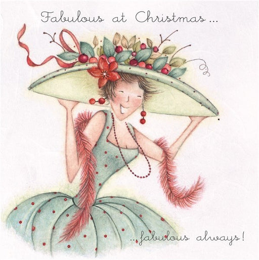 Christmas Card - Fabulous at Christmas...Fabulous Always! - Berni Parker