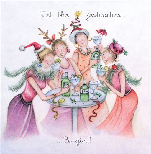 Gin Christmas Card