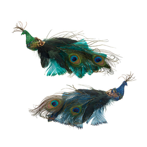 Peacock Feather Tree Decorations