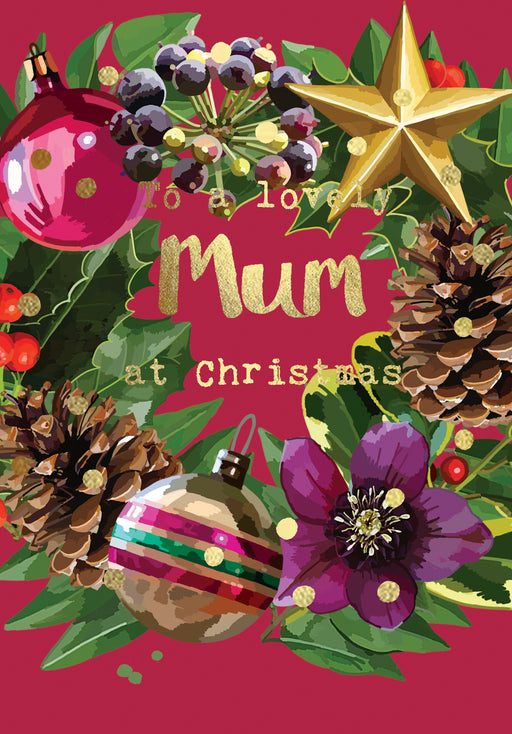 Mum Christmas Card