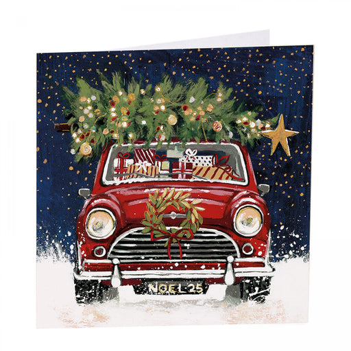 Mini Christmas Cards - Christmas Classic - Pack of 6