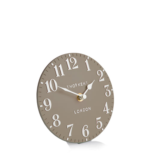 Arabic Clay 6inch Mantel Clock - Thomas Kent