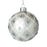 Daisy Bauble, Silver Daisy Ivory Pearl Detail Ornate Bauble