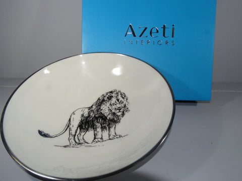 Lion Large Salad Bowl - Azeti Interiors