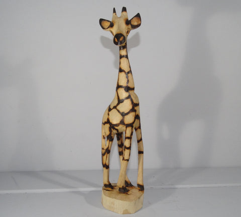 Fair Trade Jacaranda Wooden Giraffe - 30cm