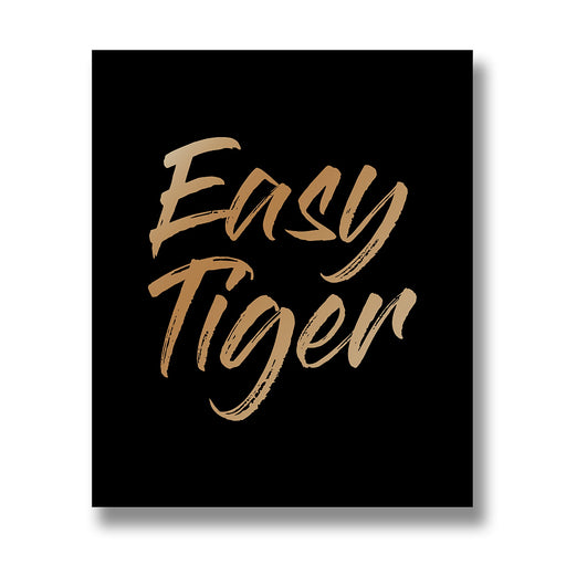 Easy Tiger Wall Plaque