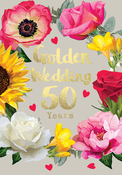 50th Wedding Anniversary - Golden Anniversary - Sarah Kelleher