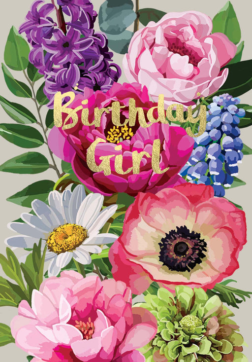 Birthday Girl - Gold Foil Detail, Sarah Kelleher