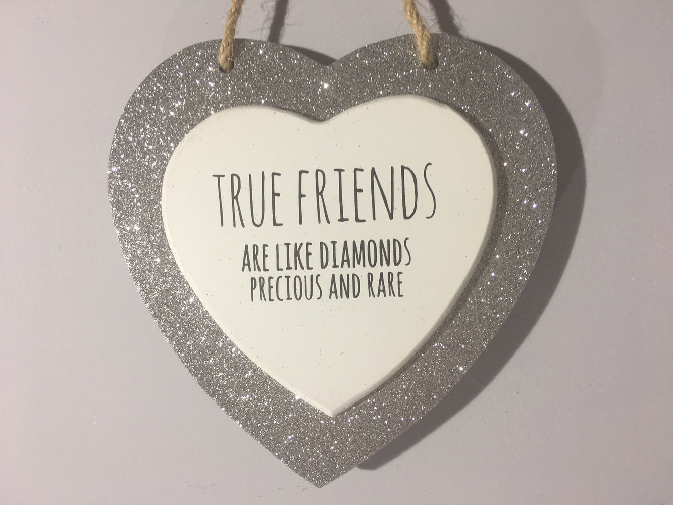 True Friends Hanging Heart