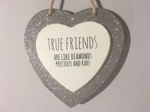Sparkle Heart - True Friends Are Like Diamonds Precious And Rare
