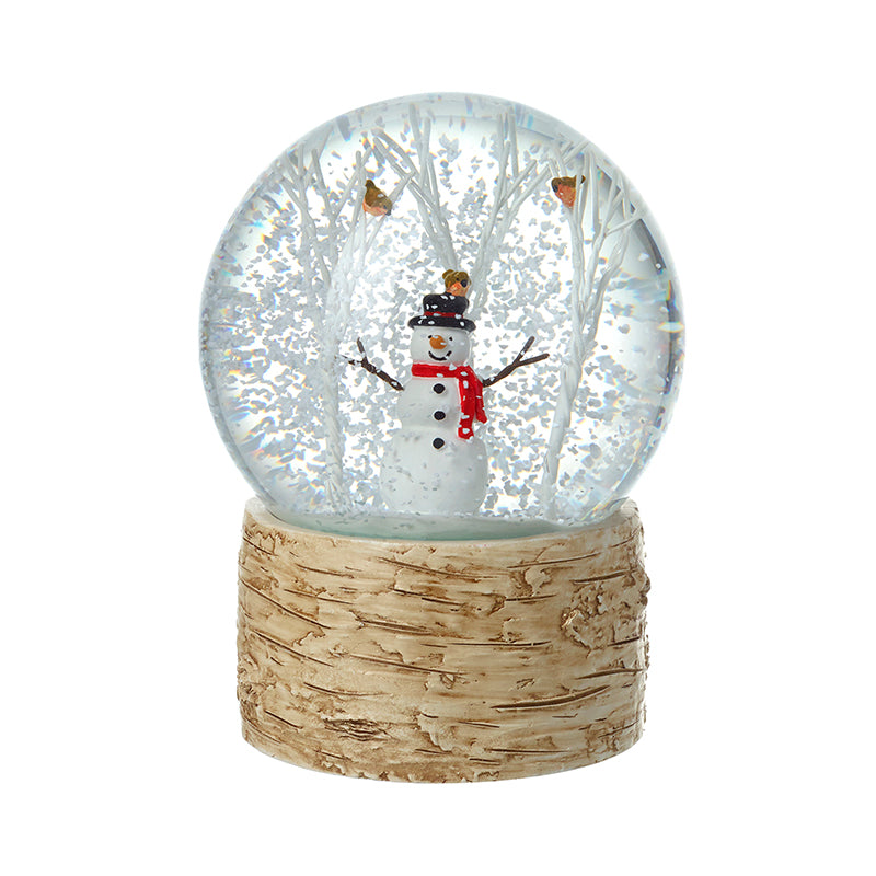 Christmas Snow Globe Jolly Snowman - Stock Due July 21