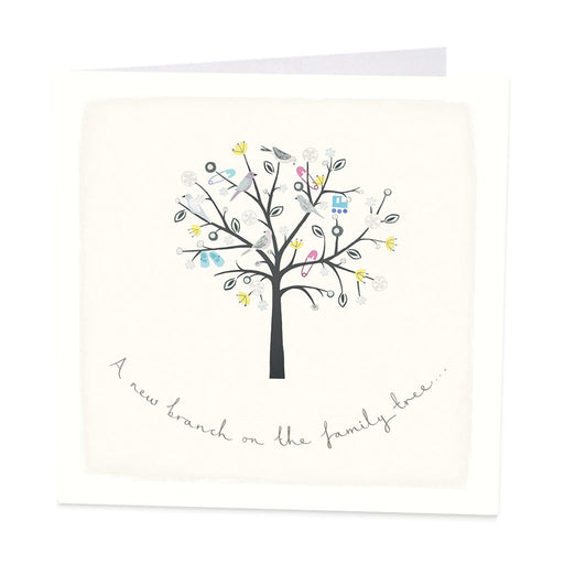 New Baby Card - A new branch on the family tree - Art Beat