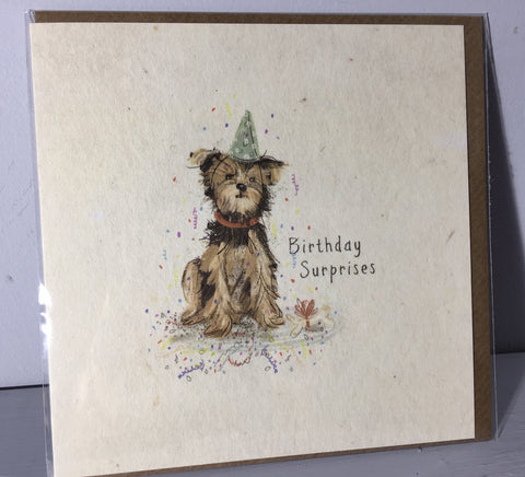 Dog Birthday Card - Birthday Surprises - Art Beat