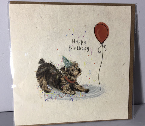 Happy Birthday Card - Playtime, A Day in the life - Art Beat