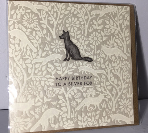 Silver Fox - Hedgerow Press - Art Beat