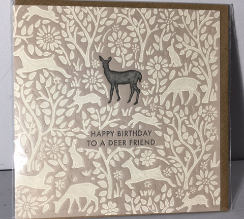 Deer Friend - Hedgerow Press - Art Beat