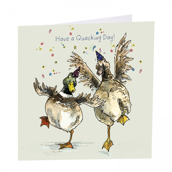 Duck Card - Have a Quacking Day!