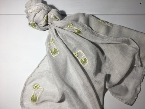 Gin and Tonic Scarf - Available in 2 Colours
