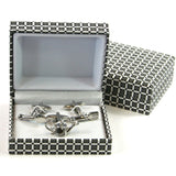 Garden Cuff Links - Set of 3 - Stylish Classic Man Gift
