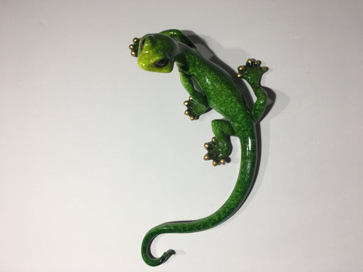 Green Gecko Wall Decor - Medium