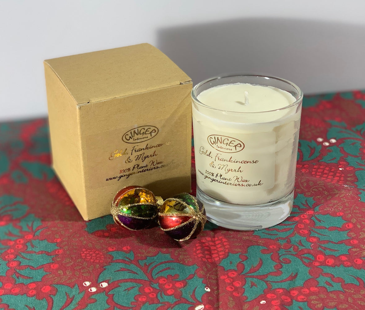 Scented Candle 20cl - Christmas - Gold Frankincense and Myrrh