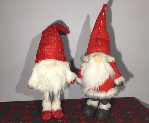 Santa Gonks - Available in 2 designs - Bobbing Santa and Bobbing Mrs Claus