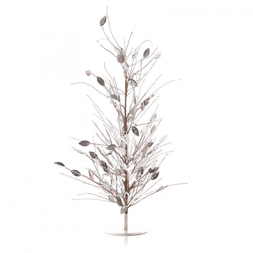 Mirror Leaf Christmas Tree 85cm