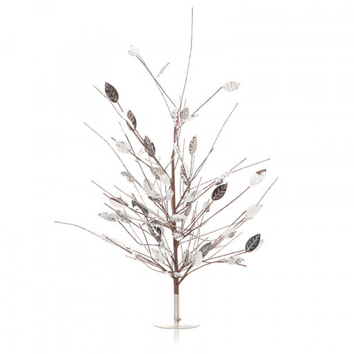 Mirror Leaf Mini Christmas Tree 53cm