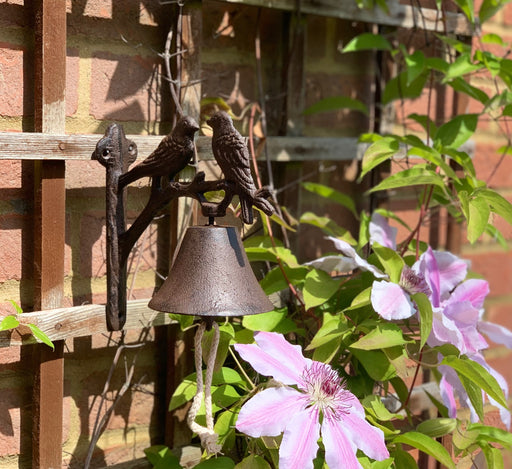 Door Bell Traditional Cast Iron - Bird Design