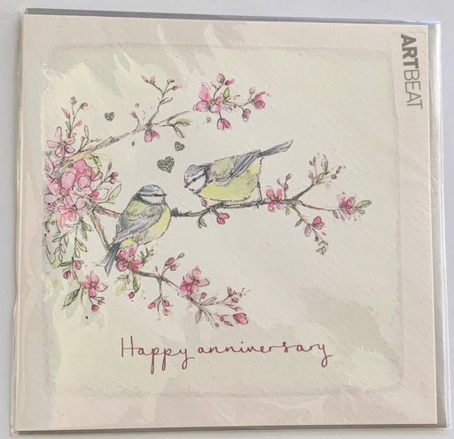 Happy Anniversary Card - Tweethearts - Art Beat
