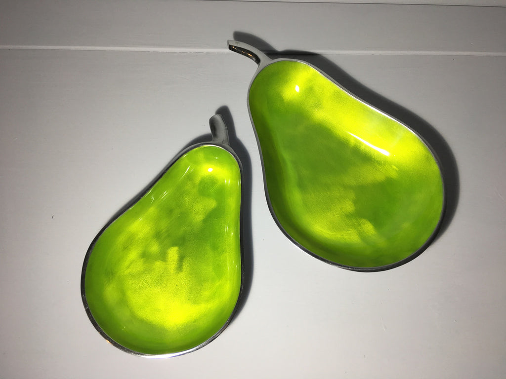 Pear Shaped Platter - Set of two