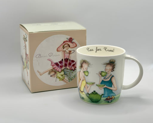 Friend Mug - Tea for two! - Berni Parker Bone China Mug, Designed and Made in the UK