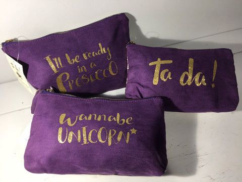 Make Up Bag - Wannabe Unicorn! from Shruti