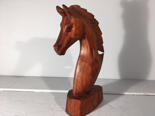 Horse Sculpture Hand Carved
