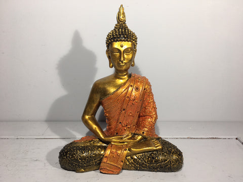 Buddha Ornament - Orange Robe
